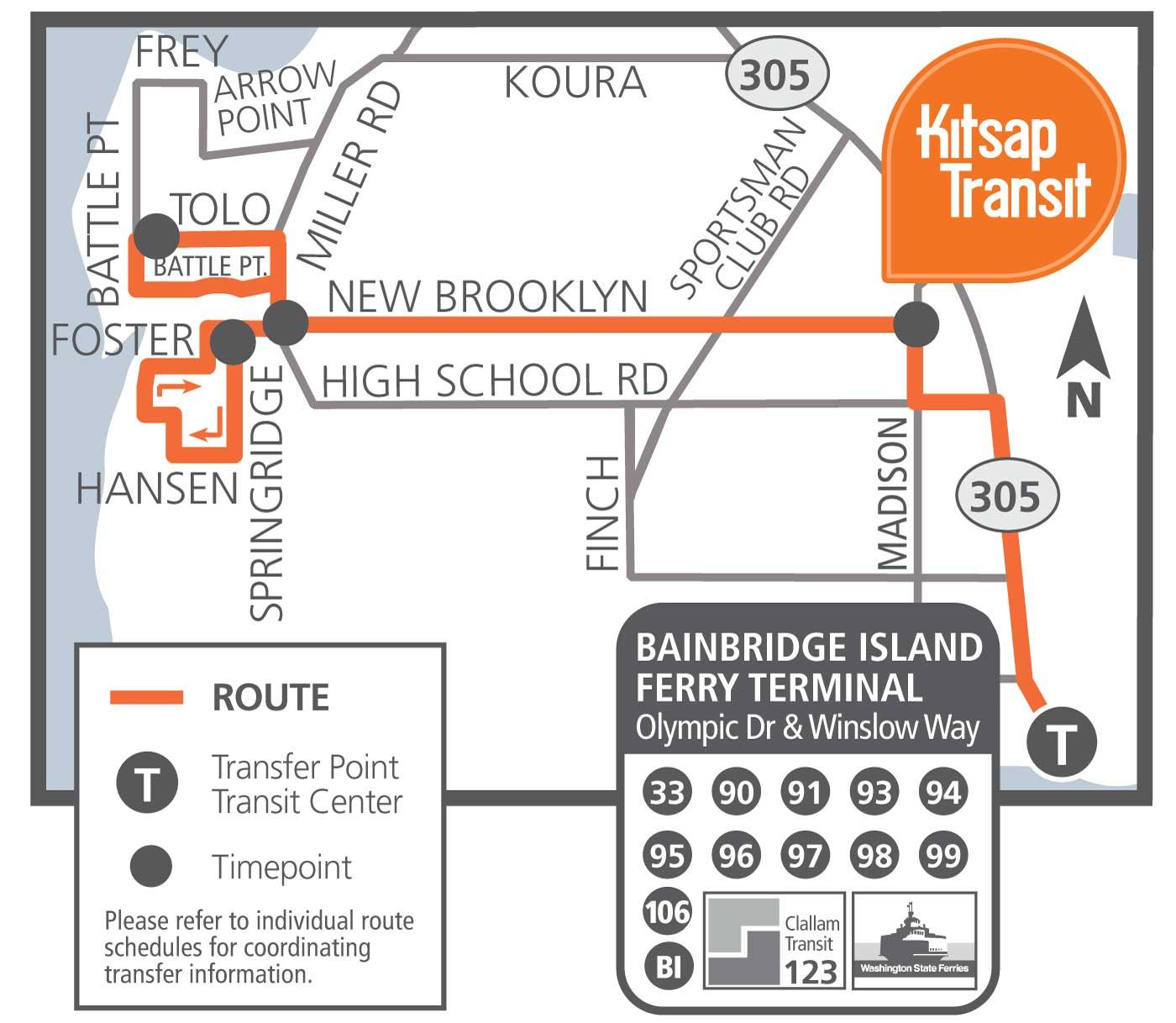 106 - Fletcher Bay | Kitsap Transit