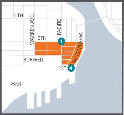 Downtown Bremerton SCOOT Car District