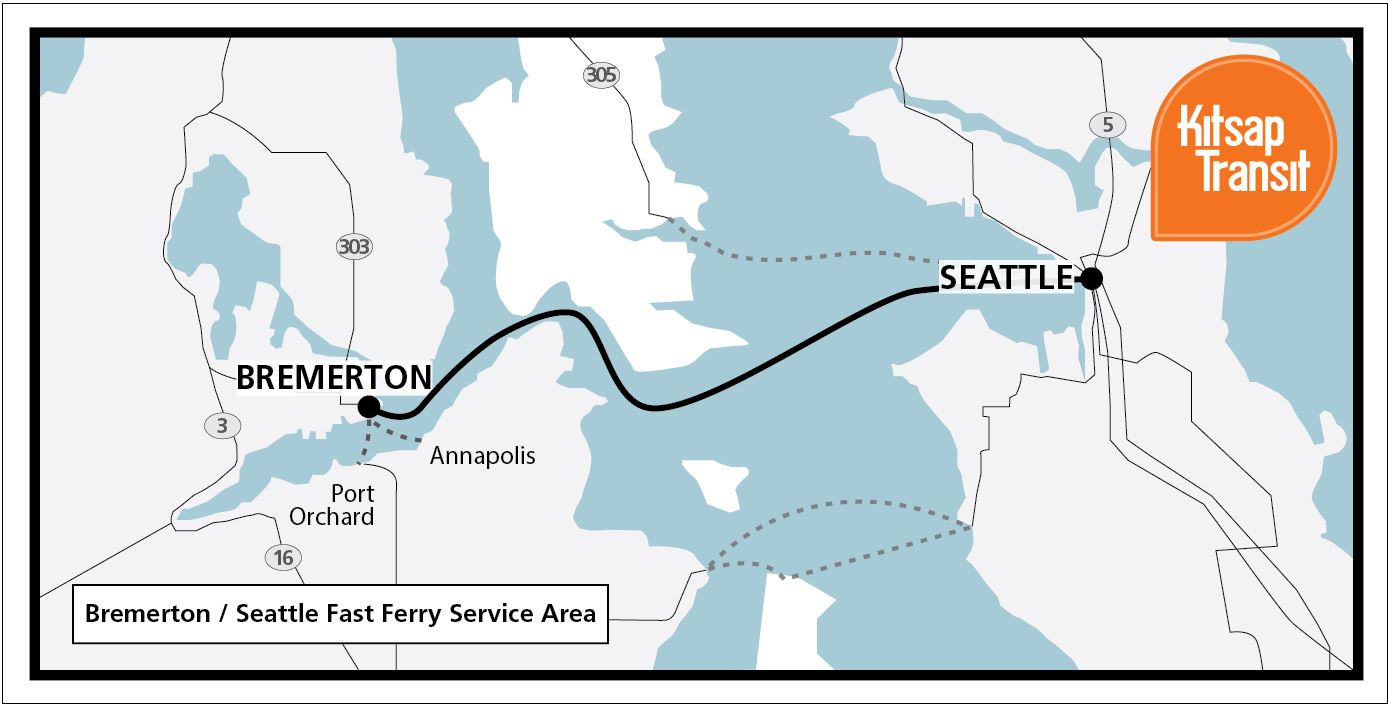 Bremerton Fast Ferry   Kitsap Transit