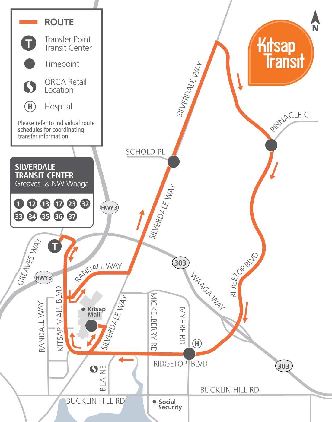 36 - ridgetop shuttle | kitsap transit