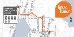 217 Bremerton Silverdale East Kitsap Transit