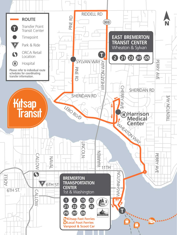 225 Sheridan Park Kitsap Transit