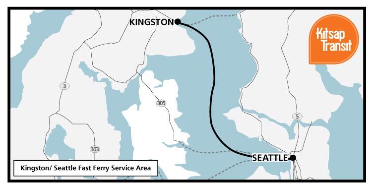 Kingston Fast Ferry | Kitsap Transit