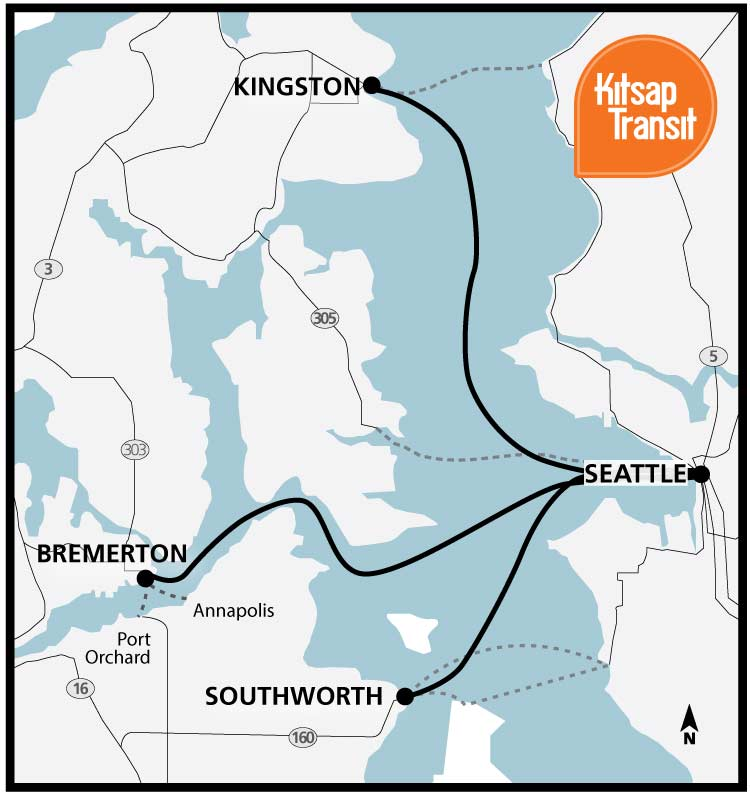 Washington State Sales Tax 2017 >> Fast Ferry | Kitsap Transit