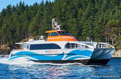 Bremerton Seattle Fast Ferry - Lady Swift