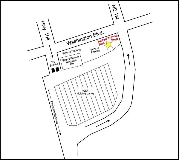 The Kingston Ferry Bus Stop Is Located On Washington Boulevard At E 1st Street All Trips Pickup And Drop Off At This Location